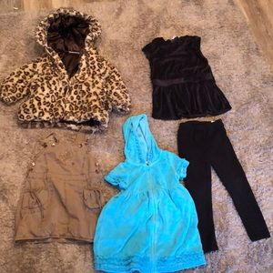 Coat and other girls clothes
